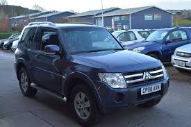 mitsubishi pajero old model used mitsubishi shogun 2008 for sale motors co uk
