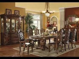 classic dining table with modern chairs design youtube