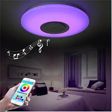 colour changing led ceiling lights music led ceiling light with bluetooth control color changing