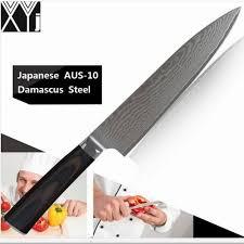 couteaux cuisine acheter xy nouveau aus 10 couteaux de cuisine damas 8 pouces couteau
