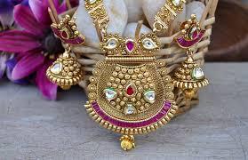 kundan jewellery designs collection 2017 18 hijabiworld