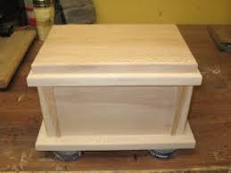 cremation boxes how to build a cremation cask