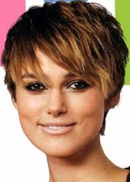 shorter hairstyles with side bangs and an angle bangs hairstyle and face shape