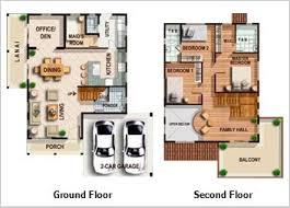 2 Storey Modern House Designs And Floor Plans Modern House Design Plans Philippines Homes Zone