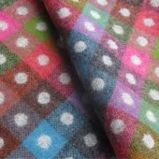 Multi Coloured Upholstery Fabric Striped Grey And Multicoloured Wool Curtain And Upholstery Fabric