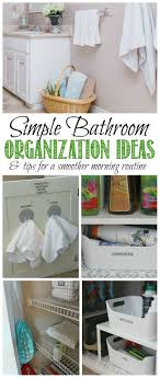 bathroom organizers ideas bathroom organization ideas clean and scentsible