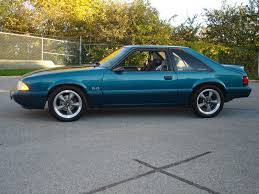 1993 ford mustang information and photos zombiedrive