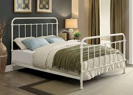King Size Metal Bed Frames For Sale Awesome Hton Vintage White Cal King Size Metal Bed Frame