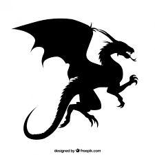 dragon vector image vector free download