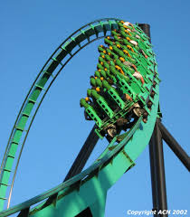 Goldrusher Six Flags Magic Mountain Six Flags Magic Mountain Riddler U0027s Revenge Rrv Dive2 Jpg