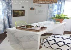 amazing marble office desk extensive modern desk for small space