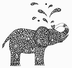 coloring pages for adults 6845 abstract elephant coloring pages