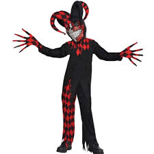 child halloween costumes uk teen boys halloween clown zombie 8 16 years scary fancy dress