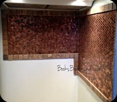 kitchen design unique copper penny backsplash for awesome