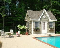 Backyard Pool Houses by 12 Best Pool House Images On Pinterest Garden Sheds Backyard