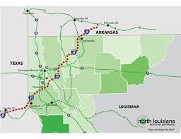 map louisiana highways interstates nlep louisiana competitive advantages
