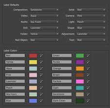 after effects quick tip changing label colors the beat a blog