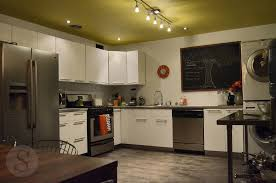 modern eclectic kitchen yellow favorite places and spaces norma