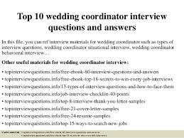 how to be a wedding coordinator top 10 wedding coordinator questions and answers 1 638 jpg cb 1427895087