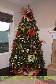 boxy christmas tree skirt