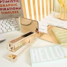 10 gold office desk accessories gold blog