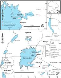 Map Of Eastern Africa by Distal Tephras Of The Eastern Lake Victoria Basin Equatorial East