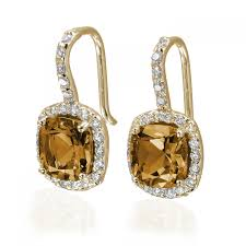 earrings citrine earrings amazing citrine aquamarine jewelry