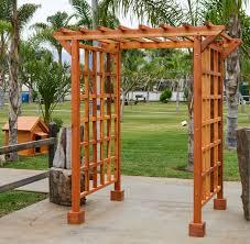 entry arbor custom made wood entryway arbor kit for sale