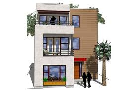 modern narrow house marvelous narrow lot modern house plans pictures ideas house