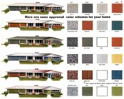 How To Decorate A Ranch Style Home by Exterior Color Schemes For Ranch Style Homes 1000 Ideas About
