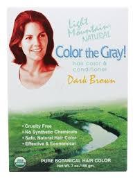 light mountain natural hair color black buy light mountain natural color the gray hair color conditioner