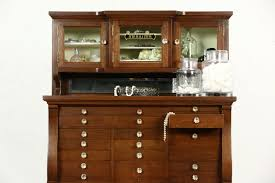 Hutch Jewelry Sold Oak Dentist Antique 1900 Dental Jewelry Or Collector
