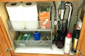 under the sink bathroom organizer under bathroom sink organizer pedestal sink storage under bathroom
