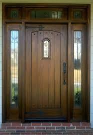 Refinish Exterior Door Wooden Front Door Wood Front Door Refinishing Business Cary