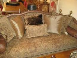 Marge Carson Sofas by Cost To Ship Marge Carson Down Sofa Couch Lots Of Custom Pillow