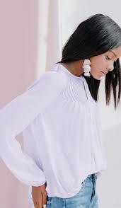 keyhole blouse greta pintuck keyhole blouse dolan