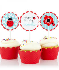 firefighter cupcake toppers decorations
