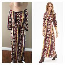 tribal maxi dress ebay