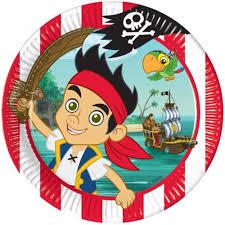 8 jake u0026 neverland pirates paper party plates disney