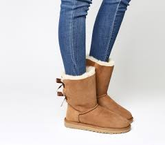 ugg bailey bow sale uk ugg bailey bow ii calf boots chestnut suede ankle boots