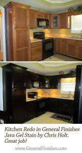 Can You Paint Kitchen Cabinets Without Sanding How To Apply Gel Stain To Finished Wood Gel Stain Cabinets White