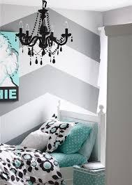Schlafzimmer Wandgestaltung Beispiele Streifen Und Zig Zag Muster Sind Einfach Zum Nachmachen Haus