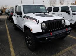 all white jeep wrangler unlimited rubicon new 2018 jeep wrangler unlimited rubicon recon convertible in