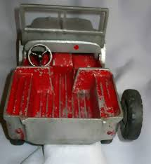 red toy jeep the rare 1945 christmas al toy do you have one ewillys