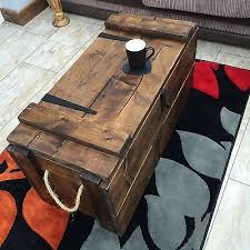 Coffee Tables Chest Treasure Chest Coffee Table Freda Stair For Prepare 17