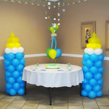 Baby Shower Centerpieces Boys Centerpieces & Bracelet Ideas
