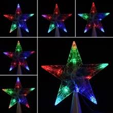 Star Christmas Tree Toppers Lighted - popular lighted star christmas tree topper buy cheap lighted star