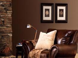 braune schlafzimmerwand braune wand wohnzimmer ziakia