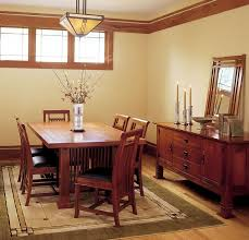 craftsman homes interiors mission style dining room best picture photos of cbdaedec