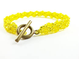 yellow bracelet images Bright yellow bracelet sunshine yellow jewelry lemon yellow